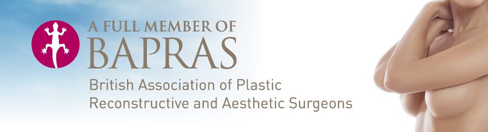 Cosmetic Consultant Surgeon Christopher Stone BAPRAS Full member Website Header
