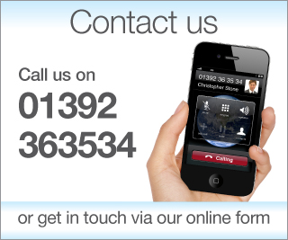 Contact Mr Christopher Stone's PA for cosmetic surgery on Exeter 01392 363534 or fill out the online form