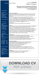 Download Christopher Stone CV