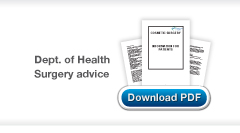 Download Christopher Stone's Department of health cosmetic surgery information for patients publication