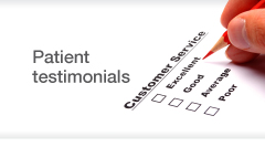 View Christopher Stone's, cosmetic & plastic surgeon client testimonials