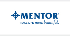 Link to Mentor healthcare suppliers (breast implants) website