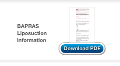 Download BAPRAS Guide to Liposuction
