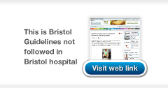 This is Bristol Guidelines not followed article link from Chris Stone Medical & Legal
