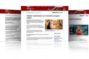 BBC Cosmetic Surgery News Stories about regulation