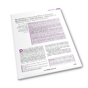 PRS 2009 screening prior to cosmetic breast surgery pdf