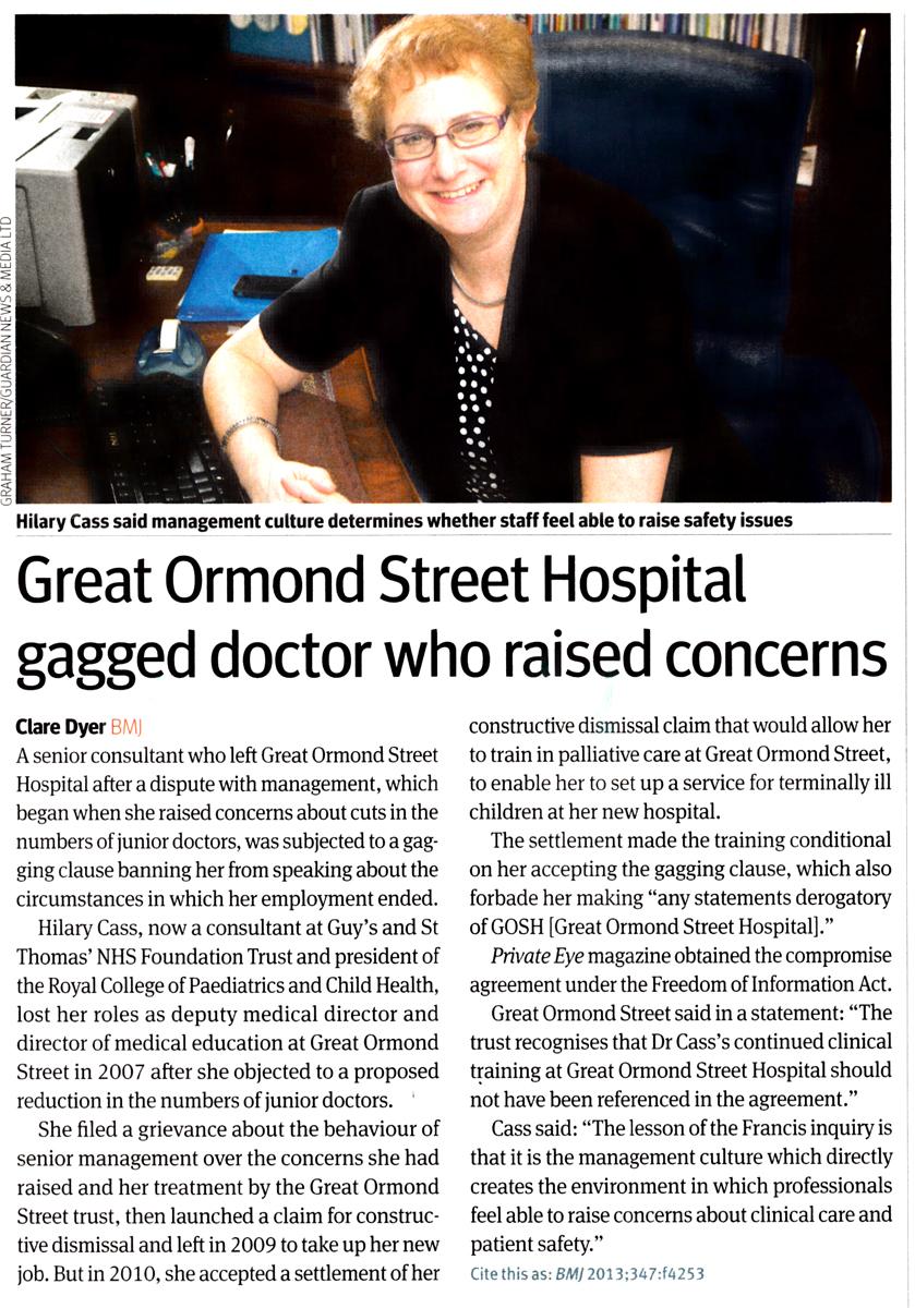 GOS-Hospital-gagged-doctor-who-raised-concerns