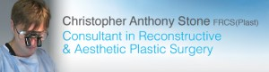 Consultant Plastic Surgeon Christopher Stone Exeter Cosmetic Surgery Breast & Trunk Specialist Website Header