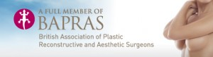 Cosmetic Consultant Surgeon Christopher Stone BAPRAS Full member Website Header