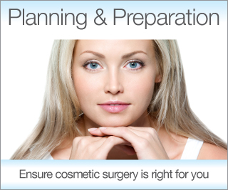 Find out more about planning & preparation for cosmetic surgery by Mr Christopher Stone