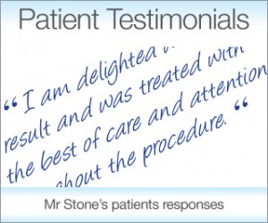 Take a look at Exeter Plastic Surgeon Mr Christopher Stone testimonials from satisfied patients