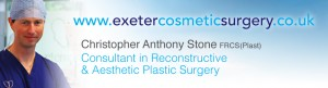 Christopher Stone Exeter Cosmetic Surgery website header