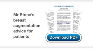 Chris Stone Surgery Breast Augmentation Surgery advice for patients download
