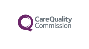 Care Quality Commission logo & website link
