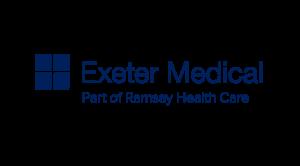 Exeter Medical part of Ramsay Healthcare logo & website link