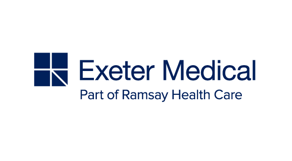 Exeter Medical part of Ramsay Healthcare logo & website link