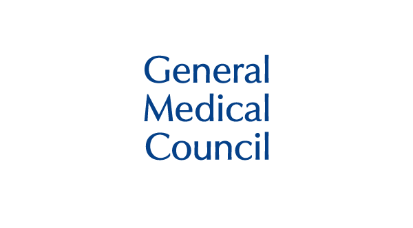 General Medical Council logo & website link