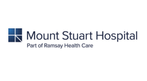 Mount Stuart Hospital logo & website link