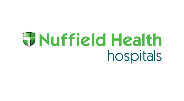 Nuffield Health Hospitals logo & website link